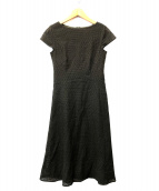 EPOCA(エポカ)の古着「サークルカットワークレース ドレス」|オリーブ