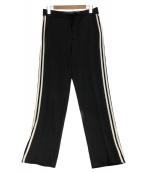 Y-3(ワイスリー)の古着「Stripes Track Pants/ストライプ トラッ」 ブラック