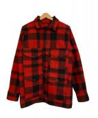 FILSON GARMENT(フィルソンガーメント)の古着「ヴィンテージマッキーノクルーザージャケット」|レッド×ブラック