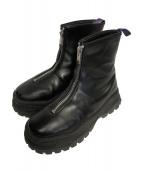 Eytys(エイティーズ)の古着「センタージップ ブーツ」|ブラック