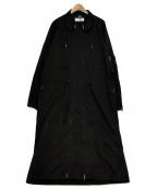 Random Identities(ランダムアイデンティティーズ)の古着「Versatile ドレス コート」|ブラック
