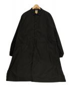 Sanca(サンカ)の古着「ロングコート」|ブラック