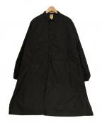 sanca(サンカ)の古着「ロングコート」 ブラック