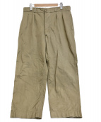 FRENCH ARMY(フレンチアーミー)の古着「M52 CHINO TROUSERS」|カーキ