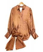 CASA FLINE(カーサフライン)の古着「ワインディング シャツ」|ピンク