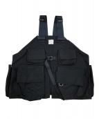 stein(シュタイン)の古着「SYSTEM VEST」|ブラック