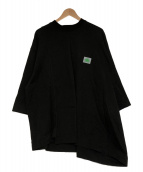 Jieda(ジエダ)の古着「コラボロゴtシャツ」 ブラック×グリーン