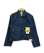 WESTOVERALLS(ウエストオーバーオールズ)の古着「デニムジャケット」|インディゴ