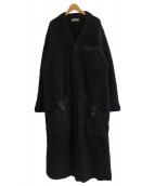 YohjiYamamoto pour homme(ヨウジヤマモトプールオム)の古着「ロングカーディガン」|ブラック