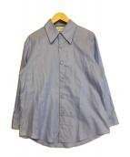 GUCCI(グッチ)の古着「レギュラーカラーシャツ」|ブルー