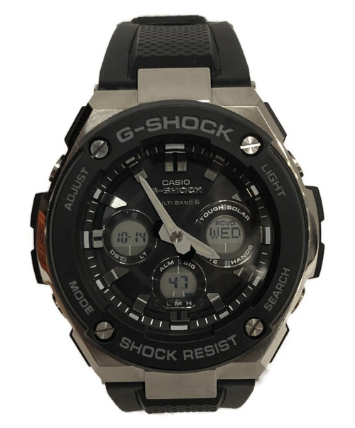 CASIO(カシオ)CASIO (カシオ) 腕時計 G-SHOCK GST-W300 ミドルサイズ 電波ソーラーの古着・服飾アイテム