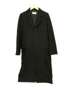 ROBE DE CHAMBRE COMME DES GARCONS(ローブドシャンブル コムデギャルソン)の古着「【OLD】チェスターコート」|ブラック