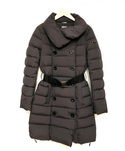 TATRAS(タトラス)TATRAS (タトラス) ベルテッドダウンコート グレー サイズ:1 roagnaの古着・服飾アイテム