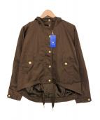 BLUE LABEL CRESTBRIDGE(ブルーレーベルクレストブリッジ)の古着「フーデッドジャケット」|ブラウン
