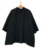 whowhat(フーワット)の古着「ビッグシルエットシャツ」|ブラック