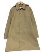TOMORROW LAND(トゥモローランド)の古着「フーデッドジャケット」 ベージュ