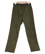 THE NORTHFACE PURPLELABEL(ザノースフェイスパープルレーベル)の古着「クライミングパンツ」|オリーブ