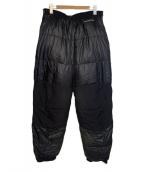 mont-bell(モンベル)の古着「ベンティスカダウンパンツ」|ブラック