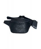 VERSACE JEANS COUTURE(ヴェルサーチジーンズクチュール)の古着「ボディーバッグ」|ブラック