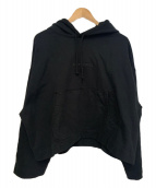ACNE STUDIOS(アクネステュディオズ)の古着「エンボスロゴパーカー」|ブラック