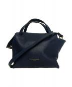 GIANNI CHIARINI(ジャンニキャリーニ)の古着「2WAYバッグ」|ネイビー