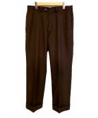 KAIKO(カイコー)の古着「ワイドパンツ」|ブラウン