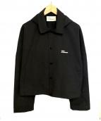 DROLE DE MONSIEUR(ドロールドムッシュ)の古着「コーチジャケット/NFPM Cropped Jacket」|ブラック