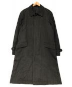 COMME des GARCONS HOMME(コムデギャルソンオム)の古着「ステンカラーコート」 チャコールグレー
