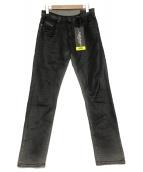 DIESEL(ディーゼル)の古着「スリムデニムパンツ/D-Strukt JoggJeans 0」|ブラック