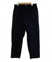 THE NORTHFACE PURPLELABEL(ザノースフェイスパープルレーベル)の古着「Ripstop Shirred Waist Pants」|ブラック