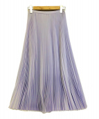TSURU by MARIKO OIKAWA(ツルバイマリコオイカワ)の古着「プリーツスカート」|ラベンダー