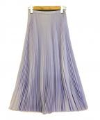 TSURU by MARIKO OIKAWA(ツルバイマリコオイカワ)の古着「プリーツスカート」 ラベンダー