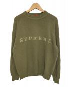Supreme(シュプリーム)の古着「Stone Washed Sweater」|グリーン