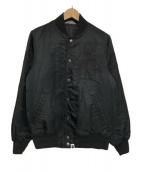 A BATHING APE(アベイシングエイプ)の古着「ナイロンスタジャン」|ブラック