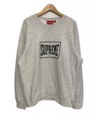 Supreme(シュプリーム)の古着「19SS Warm Up Crewneck」|アッシュグレー