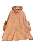 tsumori chisato(ツモリチサト)の古着「ポンチョ」|ピンク