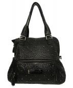 ANYA HINDMARCH(アニヤハインドマーチ)の古着「スタッズ2WAYバッグ」|ブラック