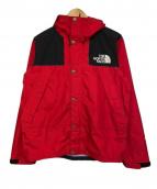 THE NORTH FACE(ザノースフェイス)の古着「Mountain Raintex Jacket」|レッド×ブラック