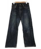 LEVIS(リーバイス)の古着「シンチバックルデニムパンツ」|インディゴ