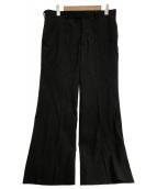 UNDERCOVER(アンダーカバー)の古着「Tailored Pants」|ブラック