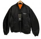 UNDERCOVER(アンダーカバー)の古着「リバーシブルMA-1 Falle Man」|ブラック