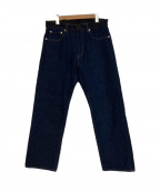 TCB jeans(ティーシービー ジーンズ)の古着「デニムパンツ」|ネイビー
