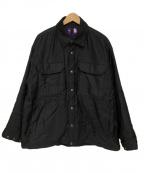 THE NORTHFACE PURPLELABEL(ザノースフェイス パープルレーベル)の古着「CPOジャケット」|ブラック