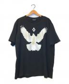 MARCELO BURLON(マルセロバーロン)の古着「バードプリントTシャツ」|ブラック
