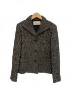 GIANNI LO GIUDICE(ジャンニ ロ ジュディチェ)の古着「セットアップツイード3Bジャケット」|グレー