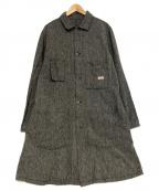 TCB jeans(ティーシービー ジーンズ)の古着「Tabbys Coat Navy Chambray」|グレー
