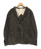 SOLIDO(ソリード)の古着「ウールテーラードジャケット」|グレー