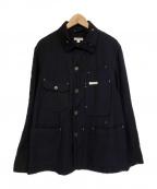 Engineered Garments(エンジニアドガーメンツ)の古着「Uniform Cloth/ユニフォームクローズジャケッ」|ネイビー