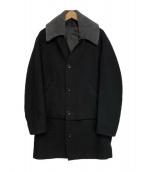 ()の古着「リバーシブルコート」 ブラック
