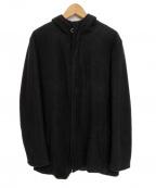 KRIS VAN ASSCHE(クリス ヴァン アッシュ)の古着「フーデッドジャケット」|ブラック